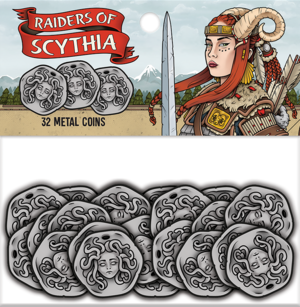 Raiders of Scythia Metal Coins